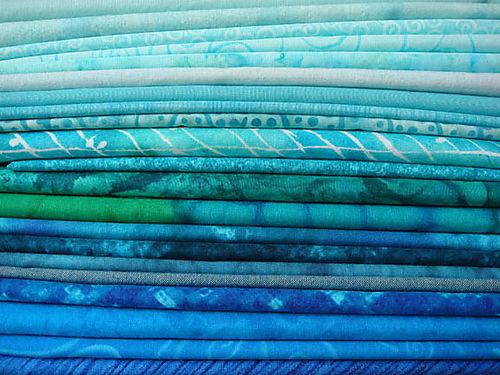 Fabrics for Summer Quilt