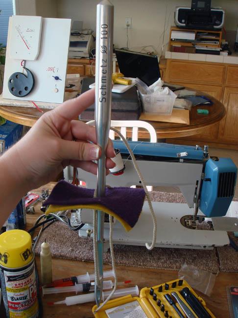 World's Largest Sewing Machine Needle