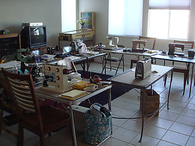 Ray White Sewing Machine Workshop classroom